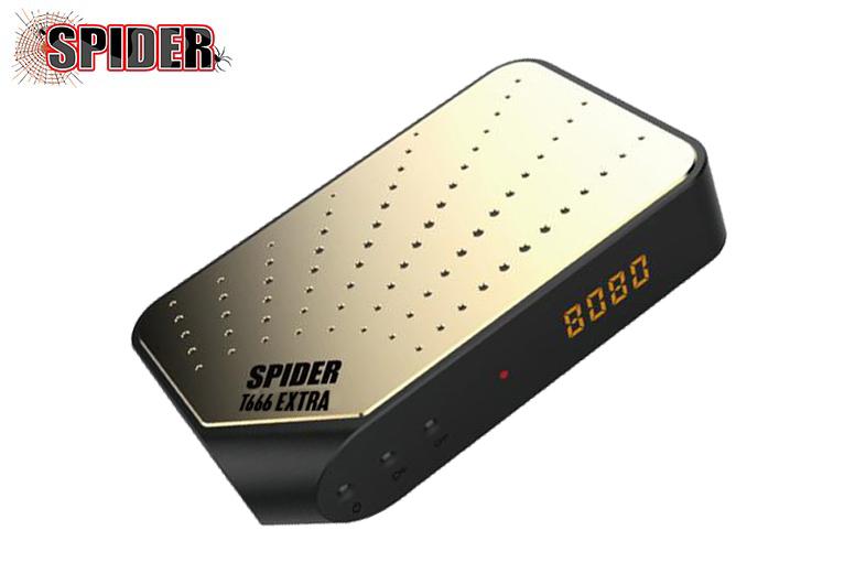سوفتوير جهاز SPIDER T666 بتاريخ