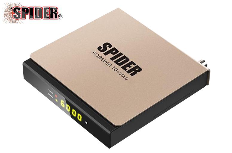 جديد جهاز   SPIDER FOREVER 10+ GOLD  بتاريخ 25/06/2020